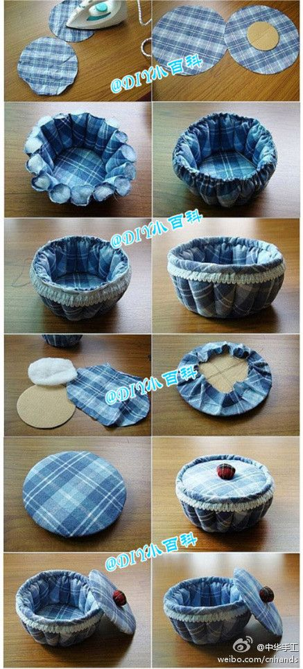 DIY Fabric Pumpkin Storage Vase Diy Easy Crafts Home Ideas Do It Yourself Tips