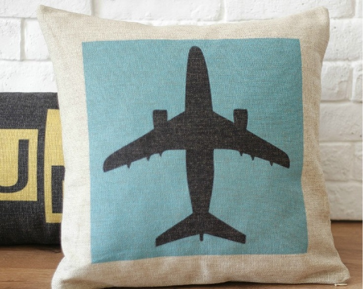 Decorative Airplane Pillow : 17 Best images about Airplane Decor For Boys Room on Pinterest Boy nursery art, Barney stinson ...