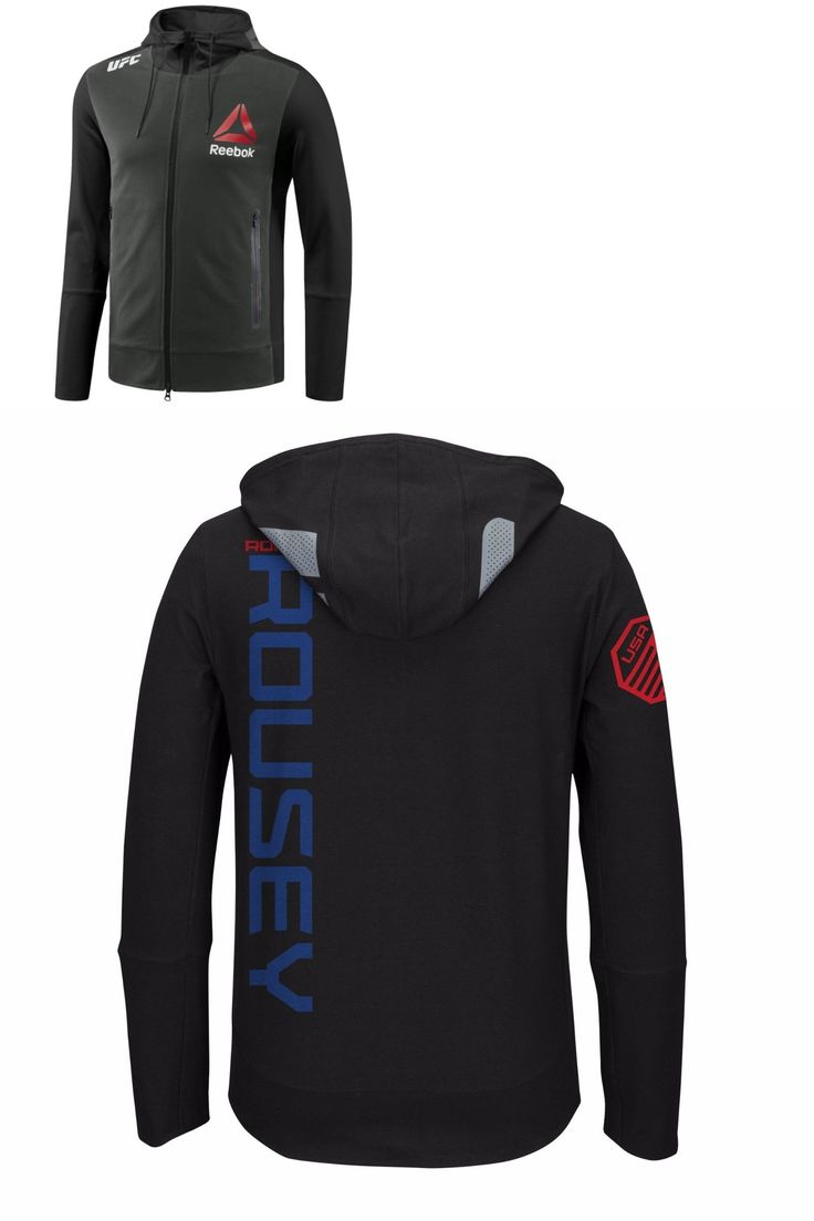 Mixed Martial Arts MMA 177913: Ronda Rousey Ufc 190 Champion Walkout Reebok Charcoal Full Zip Hoodie Jacket Nwt -> BUY IT NOW ONLY: $119.99 on eBay!