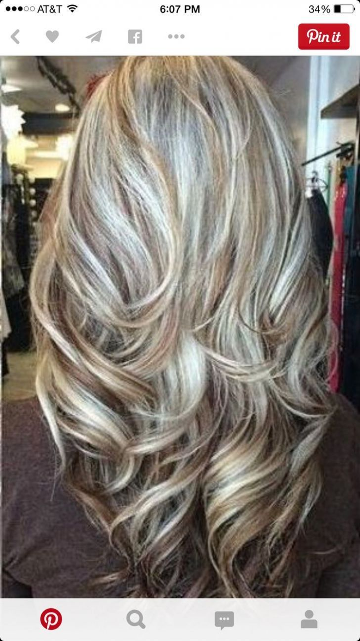 Blending Gray Hair With Highlights And Lowlights Hair