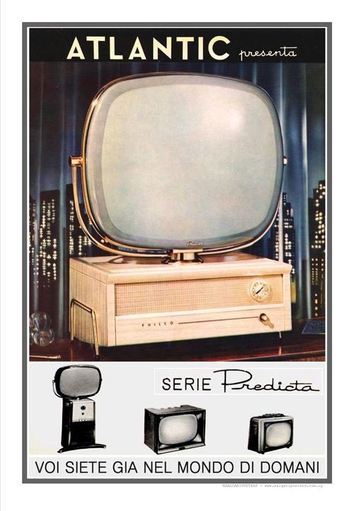 Atlantic TV-Milano 1955 Autor: Fotografía