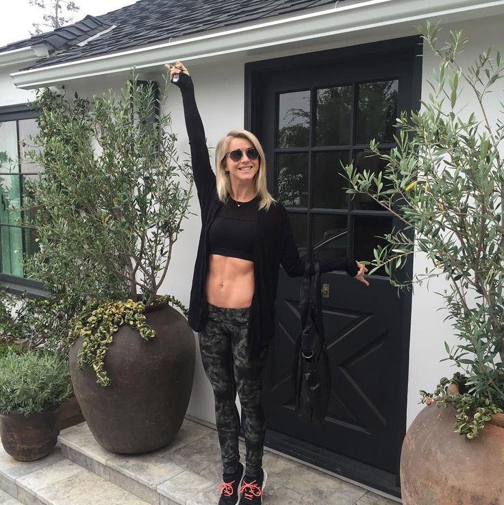 Julianne Hough Puts Her Incredible Abs on Full Display on Instagram from InStyle.com