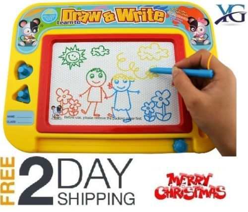 Kids-Magnetic-Drawing-Board-Magnetic-Erasable-Colorful-Learning-Develop-Toy-Gift