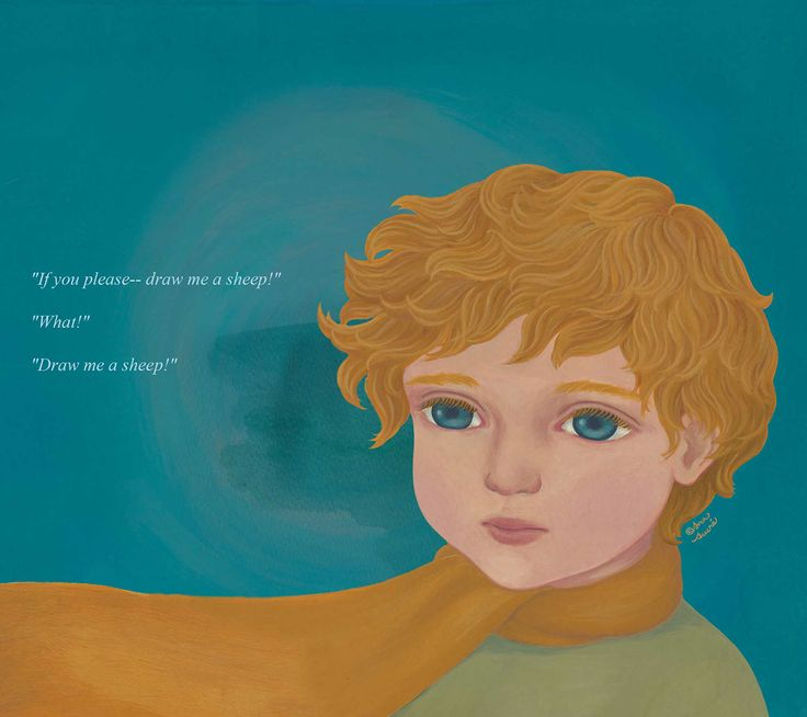 Ana Sucré : Le Petit Prince (storybook) - If you please--draw me a sheep!