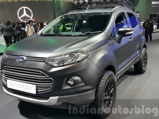 Slideshow : Ford EcoSport's matte black custom edition - All you need to know about Ford EcoSport's matte black custom edition - The Economic Times