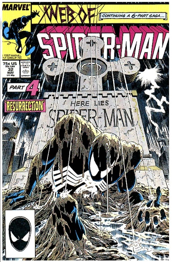 Web of Spider-Man #32 (1987) / Cover artist: Mike Zeck