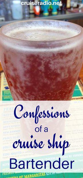 #confessions #bartending #bar #drinks #cruise #travel #cruising #bar