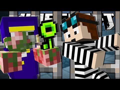 Minecraft | THE GREAT PRISON ESCAPE!! | The Escapists Custom Map [Part 2] - YouTube