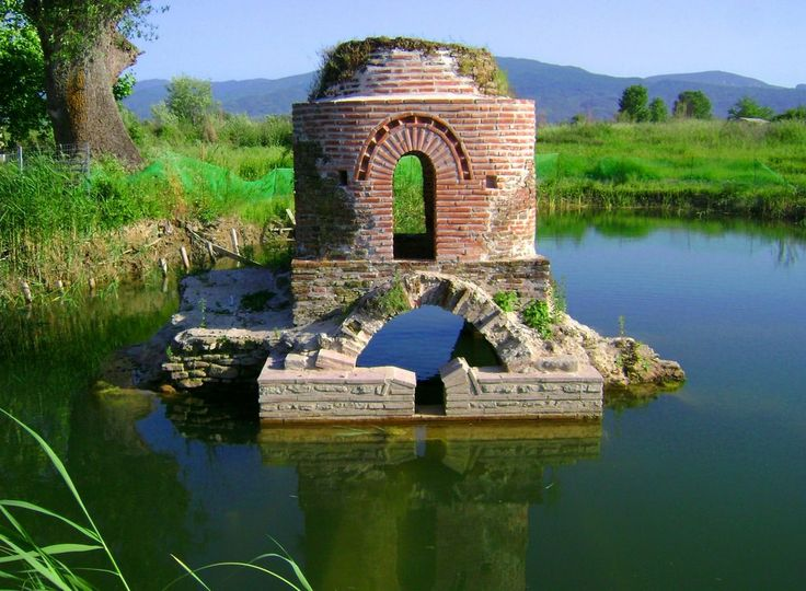 Agrinio - Αγρίνιο -Byzantine church in the lake 9th century