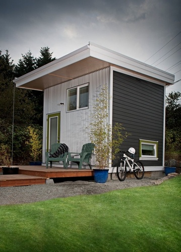 Best Flat Roof Tiny House Places Spaces Pinterest Flat 400 x 300