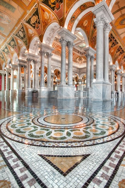 Library of Congress  My great grandmother volunteered there. Josephine Marie Foertsch Shannon