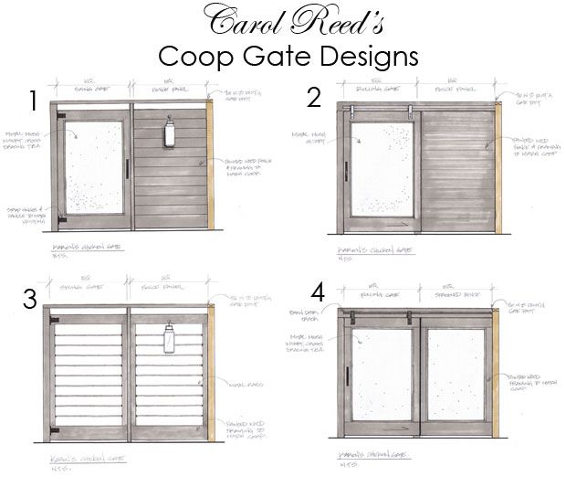 I love the Art Of Doing Stuff Coop gates...what a great job...always my dream to have fresh eggs everyday