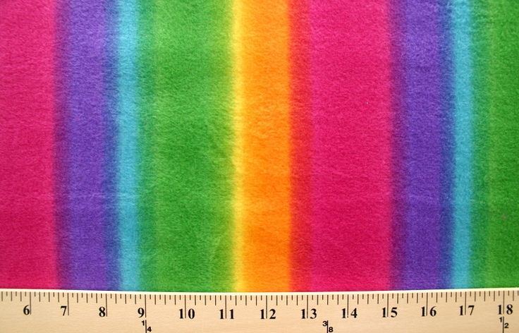 Happy Face Wallpaper With Quotes Rainbow Stripes Ombre Stripes Multi Bright Fleece Fabric