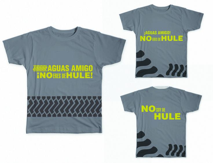 Diseño de Playeras para la campaña, que se entregarian en una carrera conmemorativa a la campaña, este diseño es en base al de DHULE
