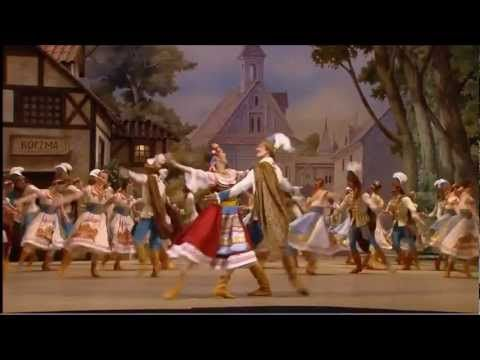 """Bolshoi Ballet. Act 1 Mazurka of """"Coppelia."""" I really, really, REALLY want to dance this!"""
