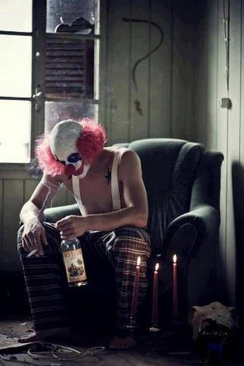 Drunk Clown!!  My Favorite!!