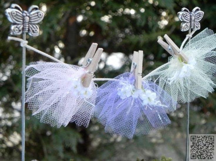 12. #Fairy Garden #Clothesline - 48 Fantastic Fairy #Gardens for Your Yard ...