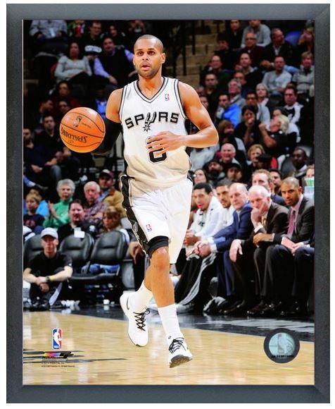 Patty Mills 2013-14 San Antonio Spurs-11 x14 Photo in Glassless Sports Frame