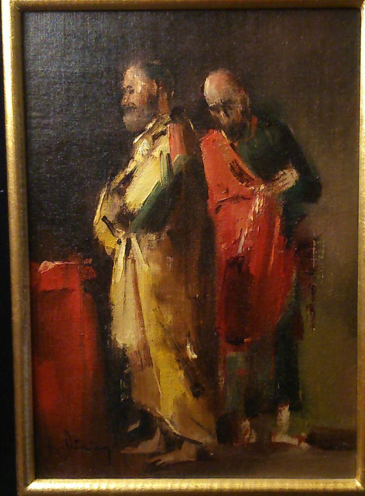 RADU DARANGA Radu DăRÂNGă 1944 ROUMANIE Peinture Huile/toile/carton Artiste COTE