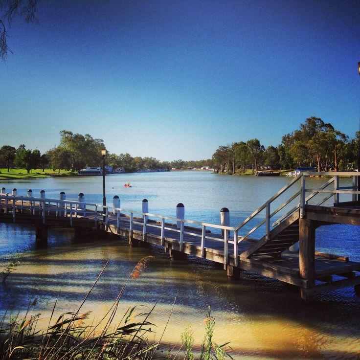 Murray River in Mildura, Victoria  Of all my travels Mildura is a favourite