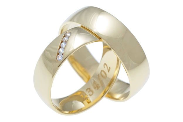Snubné prstene - model č. 234/02