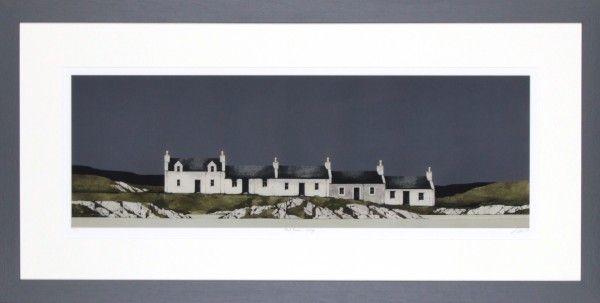 Ron Lawson, Port Ellen, Islay. Signed Limited Edition print | Scottish Contemporary Art