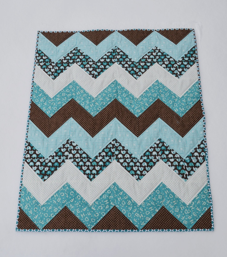 Free Baby Chevron Quilt Patterns Cafca Info For