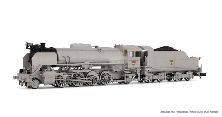 "Steam locomotive 141-2101. ""Mikado"""