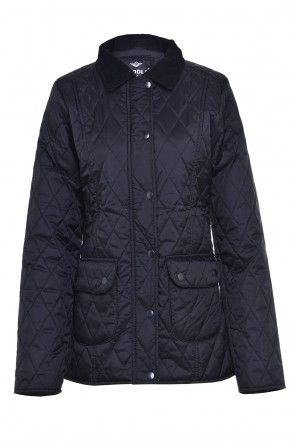 Candice Padded Jacket in Black