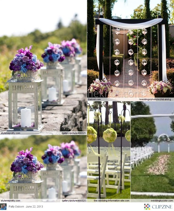 Wedding Decorations For The Altar: 25+ Best Ideas About Outdoor Wedding Altars On Pinterest