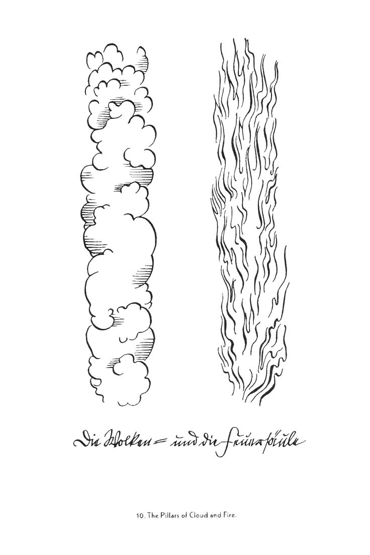 Coloring pages zacharias elizabeth - Pillar Of Cloud And Pillar Of Fire