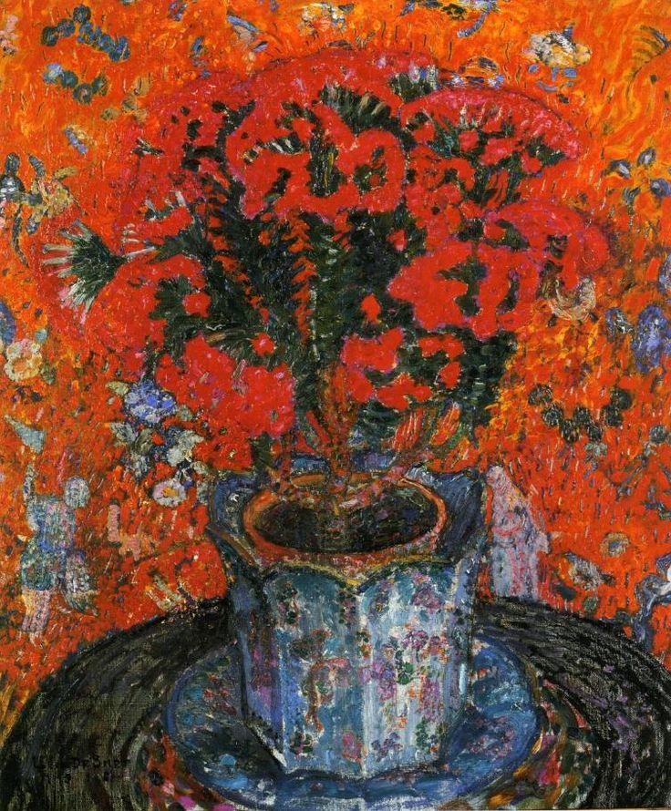 Léon de Smet - Vase of Flowers