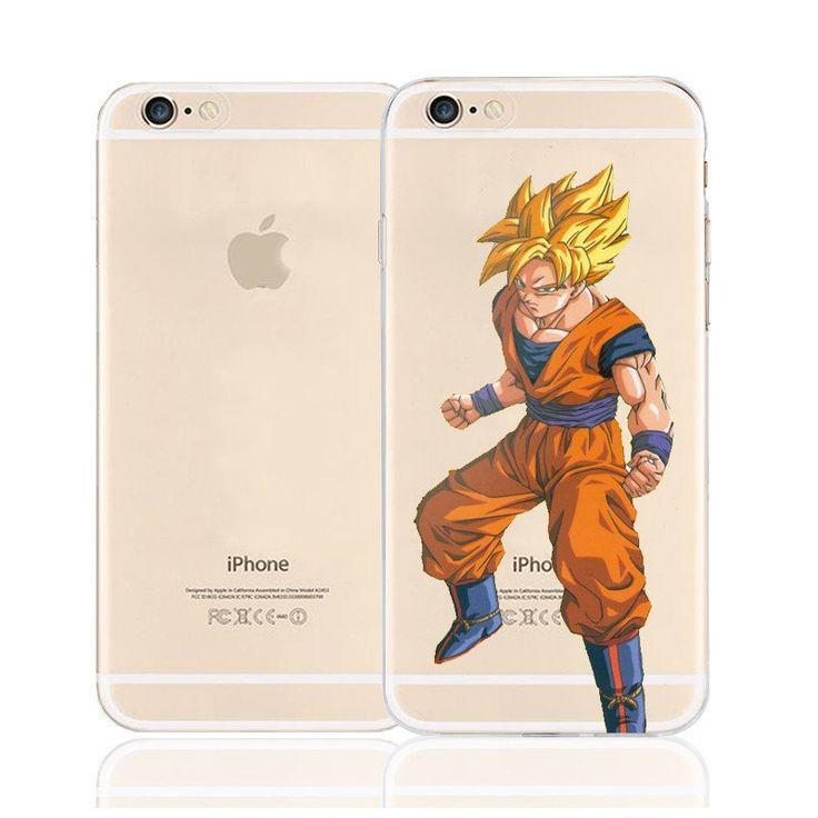 DBZ Goku Super Saiyan Ready Fighting Character Back Cover for iPhone 6 6s Plus    #DBZ #Goku #Super #Saiyan #Ready #Fighting #Character #Back #Cover for #iPhone #6 #6s #Plus