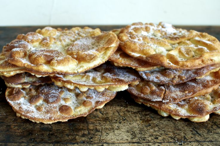 Buñuelos {Mexican Sugar Crisps with Anise Seeds}