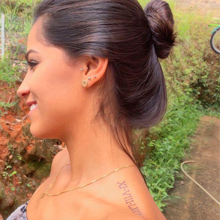 #tattoo #numerosromanos #tatuagem #numbers