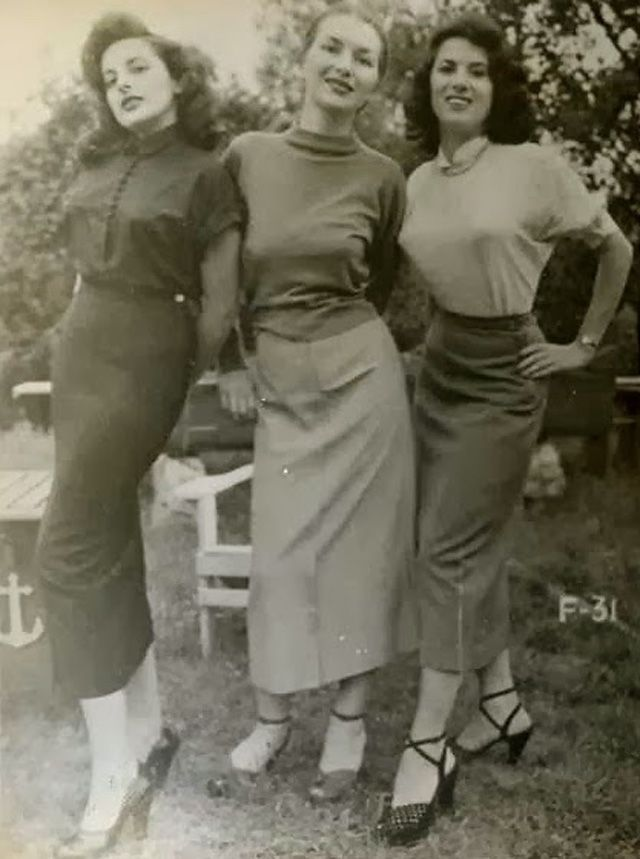 early 1950s fashion - photo #21