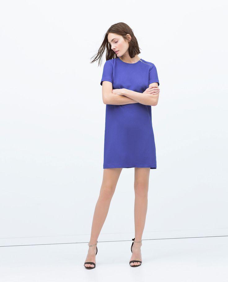 Bonito Vestido De Cóctel Zara Motivo - Ideas para el Banquete de ...