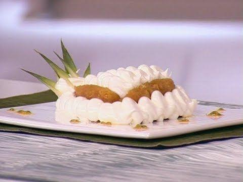 Método Gross - Ananá rotie con suspiro de maracuyá