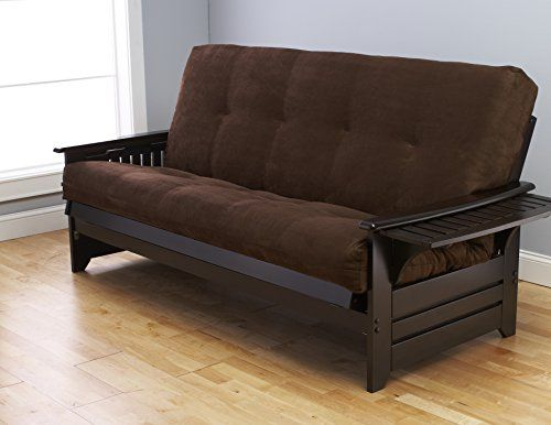 #donation The futon is a #classic hardwood frame with mission style arms. This unique and versatile Queen size futon sofa easily converts to a Bed. This multifun...