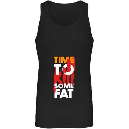 Débardeur Long Femme Time To Kill Some Fat Noir / S Tunetoo Femme>Tee-Shirts