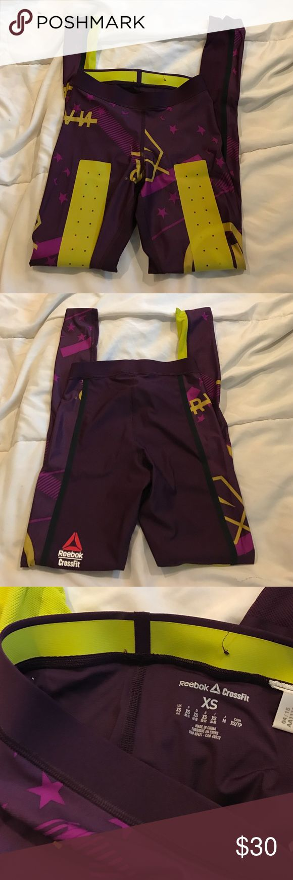 2015 Reebok CrossFit Games compression pants. Never worn compression pants from the 2015 CrossFit Games. Very limited and was only available for the games athletes. Reebok Pants Skinny