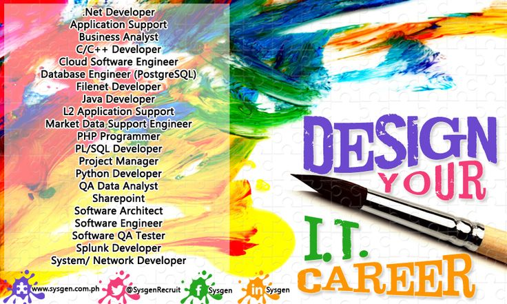 Design Your IT Career. We're looking for Software