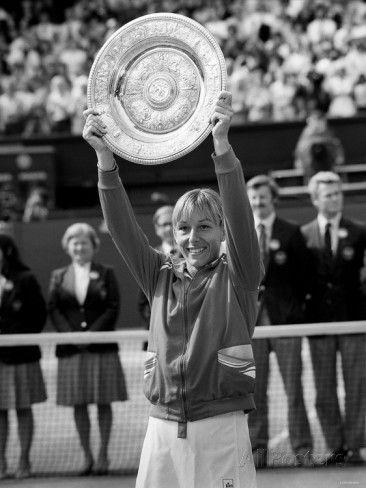 Martina Navratilova Wins the Wimbledon Womens Final 1982