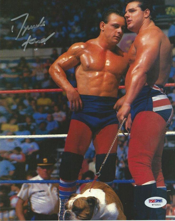 Dynamite Kid Signed WWE 8x10 Photo PSA/DNA COA Picture Autograph British Bulldog