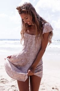 CHERRY WINE dress