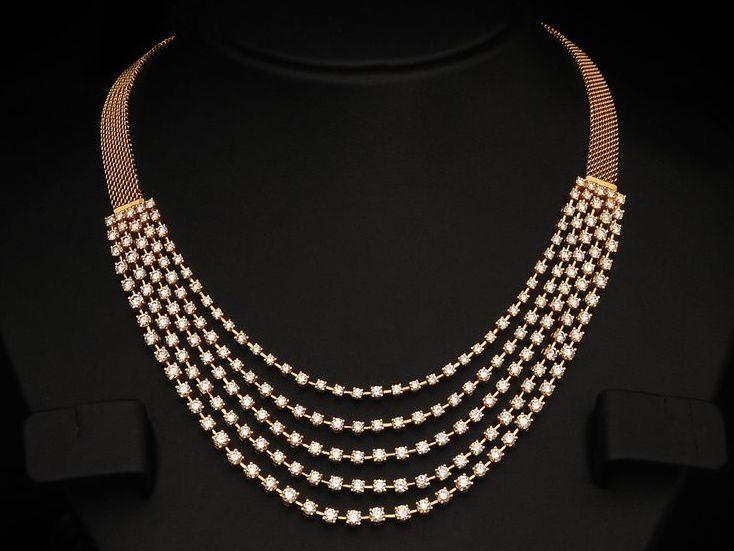Diamond Gold Bridal Necklace