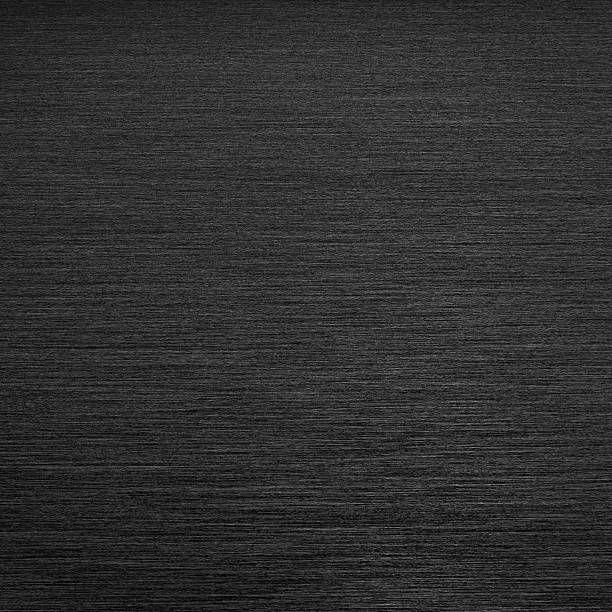 square formet black brushed metal background
