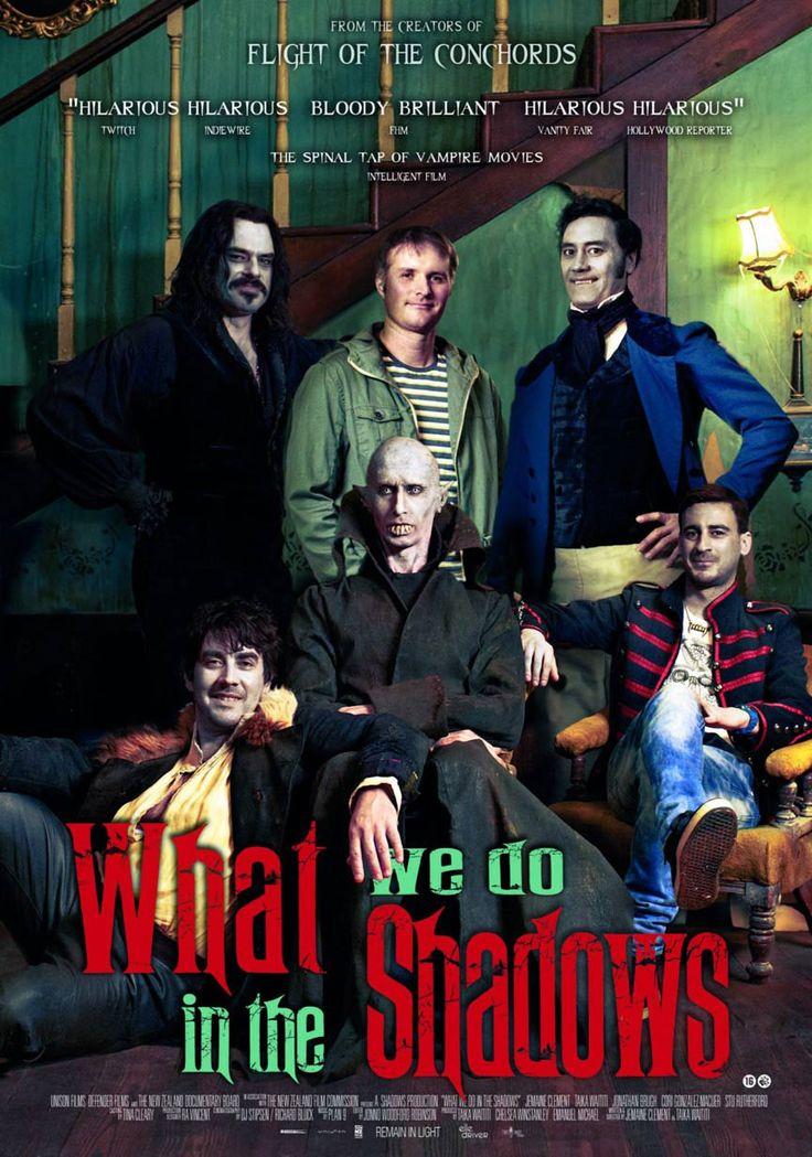 [364] What We Do in the Shadows (2014) 16/08/16 (3/5) Almenys és original.
