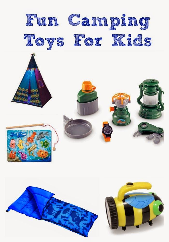 Fun Camping Toys for Kids