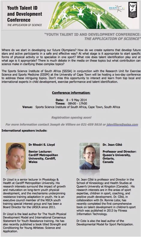 Talent ID & Development Conference